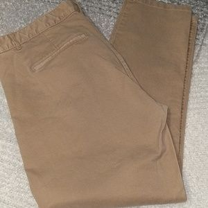 Khakis by Gap skinny mini pants